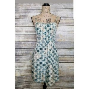 Anthro Moulinette Souers Silk Dress Size 6